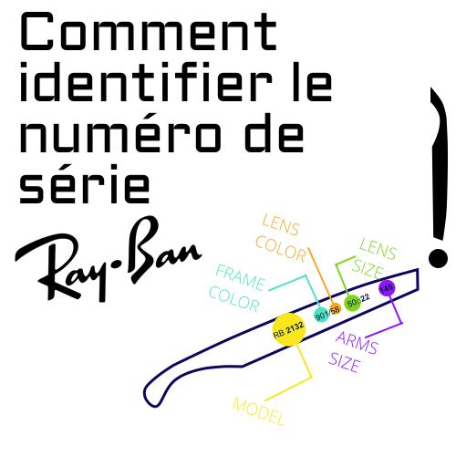 Comment identifier le numero de serie Ray Ban