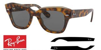 Branches Ray-Ban 2186 STATE STREET Originaux