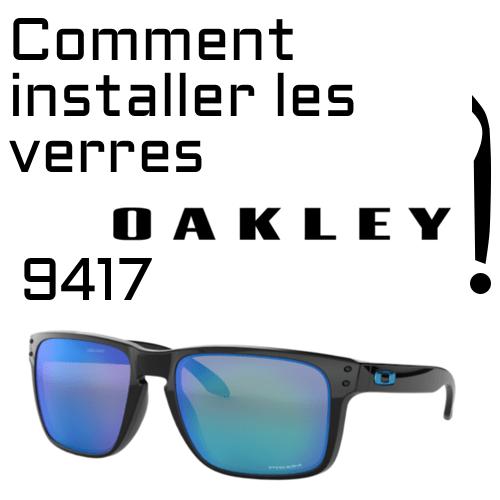 Changement de verres Oakley 9417 1